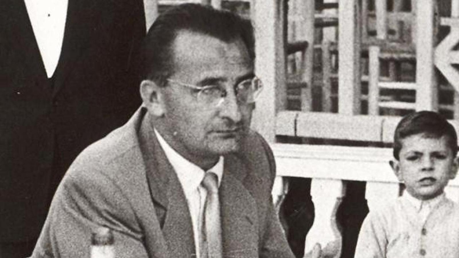 Sandro Puppo, entrenador del Barça els anys 50