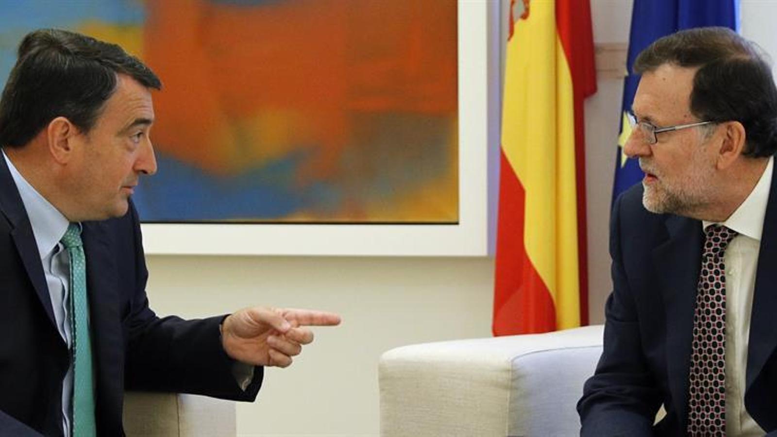 """El PNB rebutja pactar els pressupostos amb Rajoy perquè no compleix amb """"un llindar mínim de decència democràtica"""""""