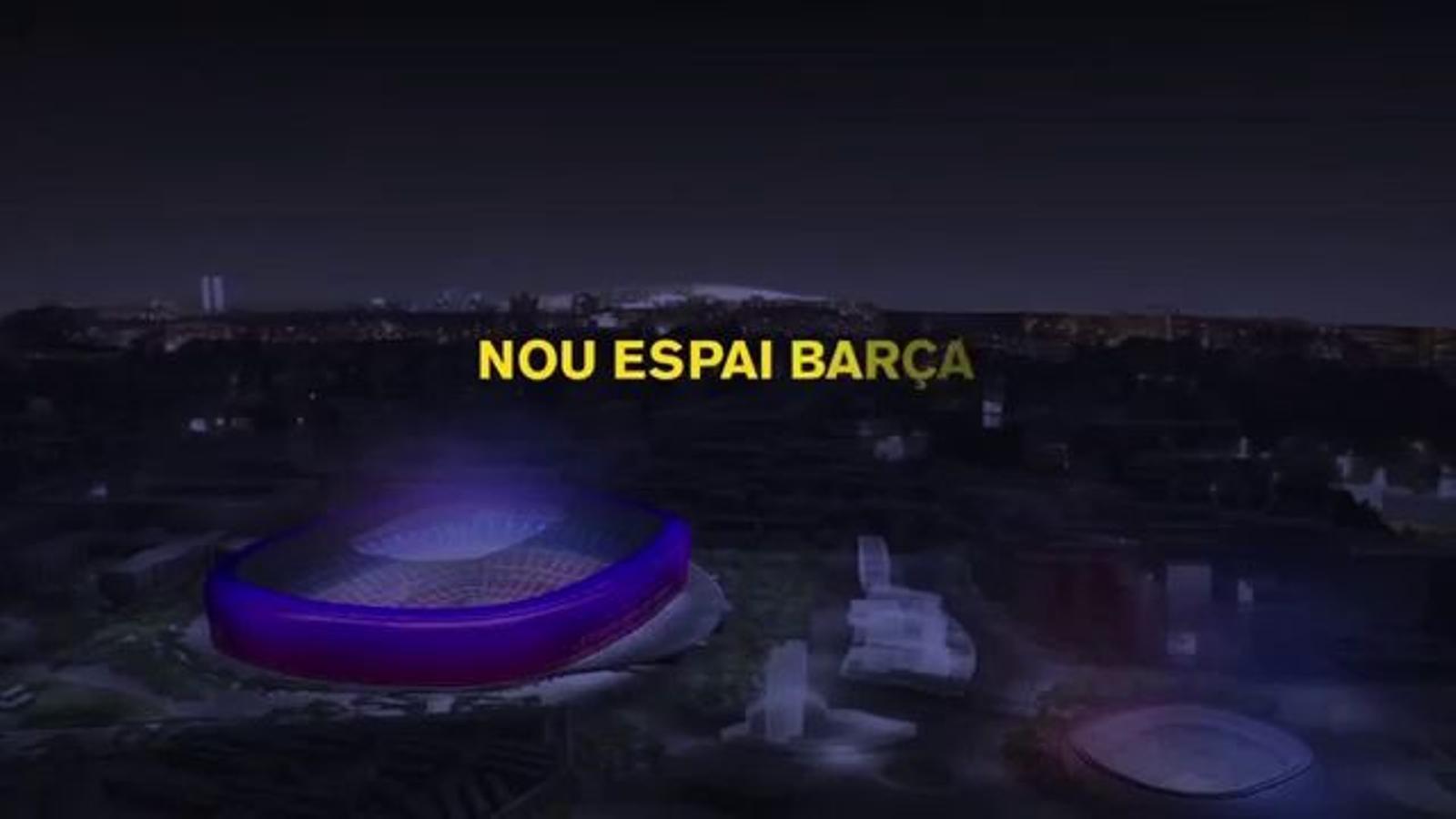 Els punts clau del futur Espai Barça