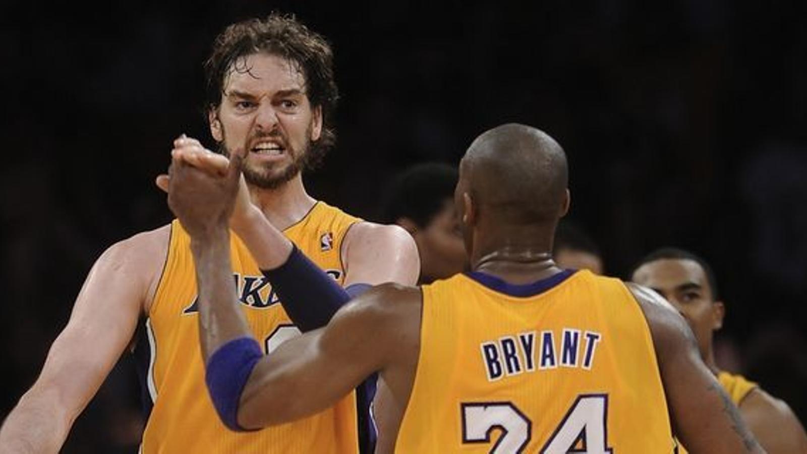 """Pau Gasol s'acomiada de Kobe Bryant amb una carta: """"Érem perfectes junts"""""""