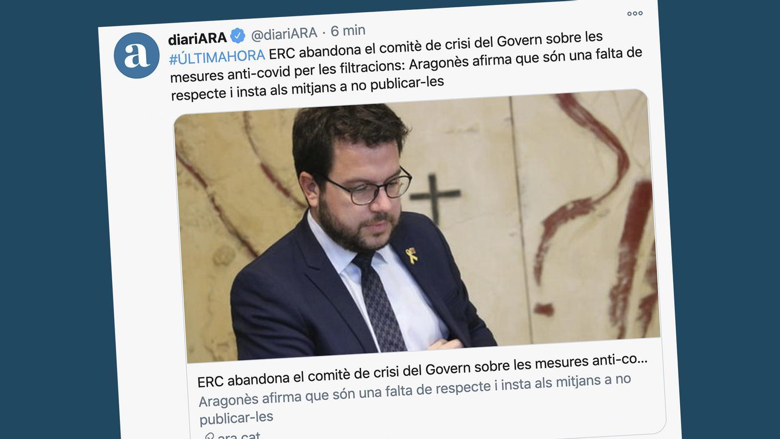 L'anàlisi d'Antoni Bassas: 'Prou, per respecte a la Generalitat, a la societat i als electors'
