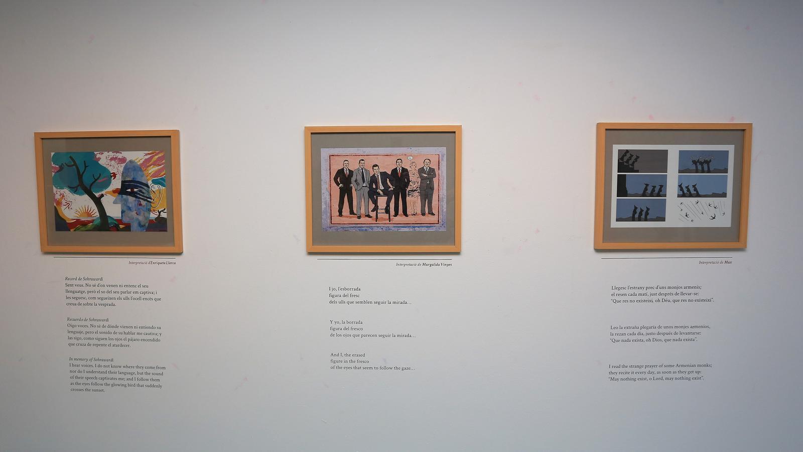 Els versos d'Andreu Vidal, il·lustrats per Max, Margalida Vinyes, Enriqueta Llorca, Pere Joan i Linhart