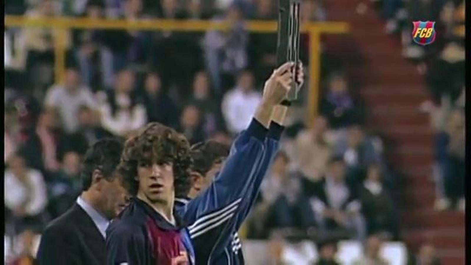 La trajectòria de Carles Puyol al Barça