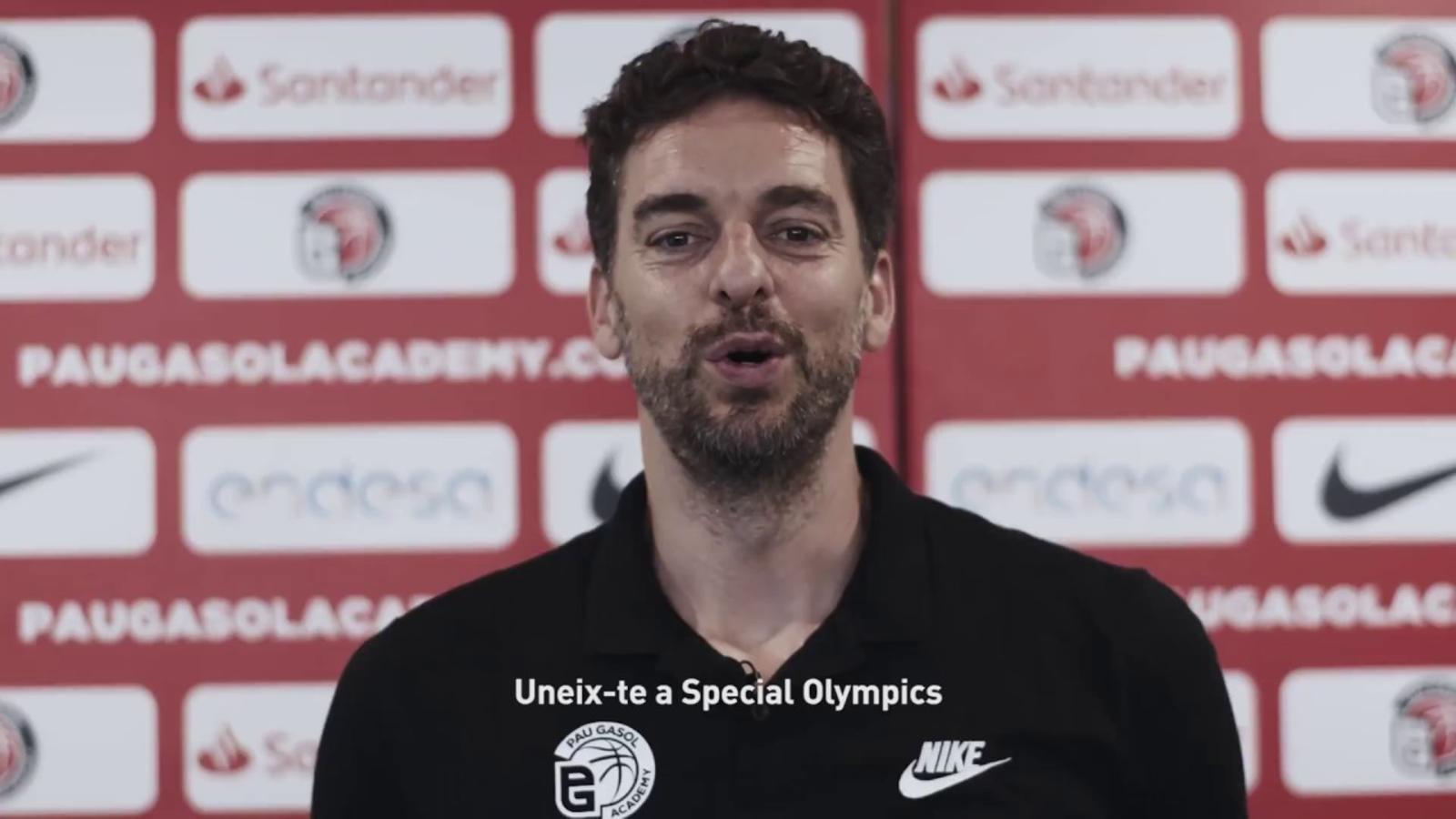 Pau Gasol i els Jocs Special Olympics