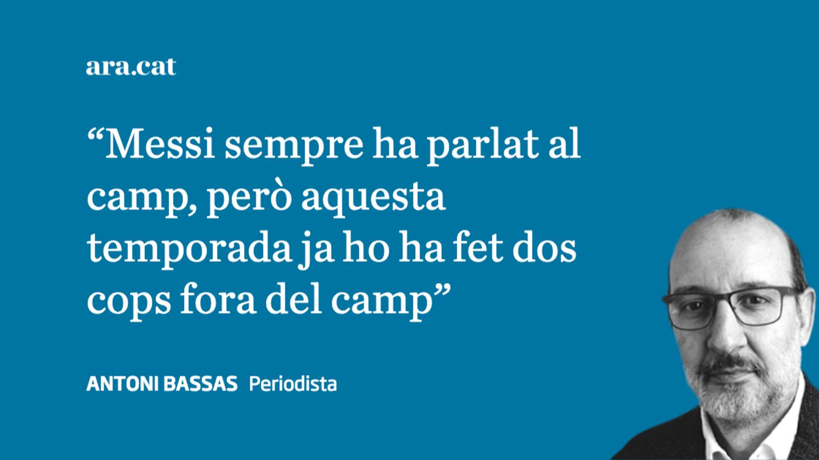 Paraula de Messi i aturada de Cillessen