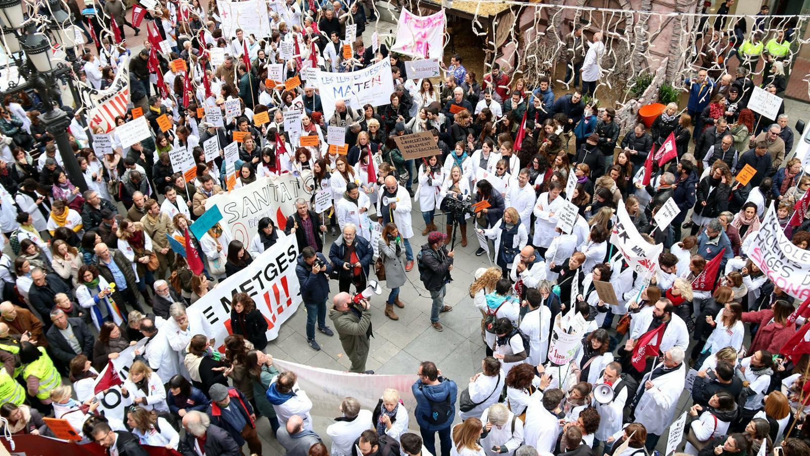El TSJC anul·la l'acord que va permetre desconvoncar la vaga de la sanitat concertada