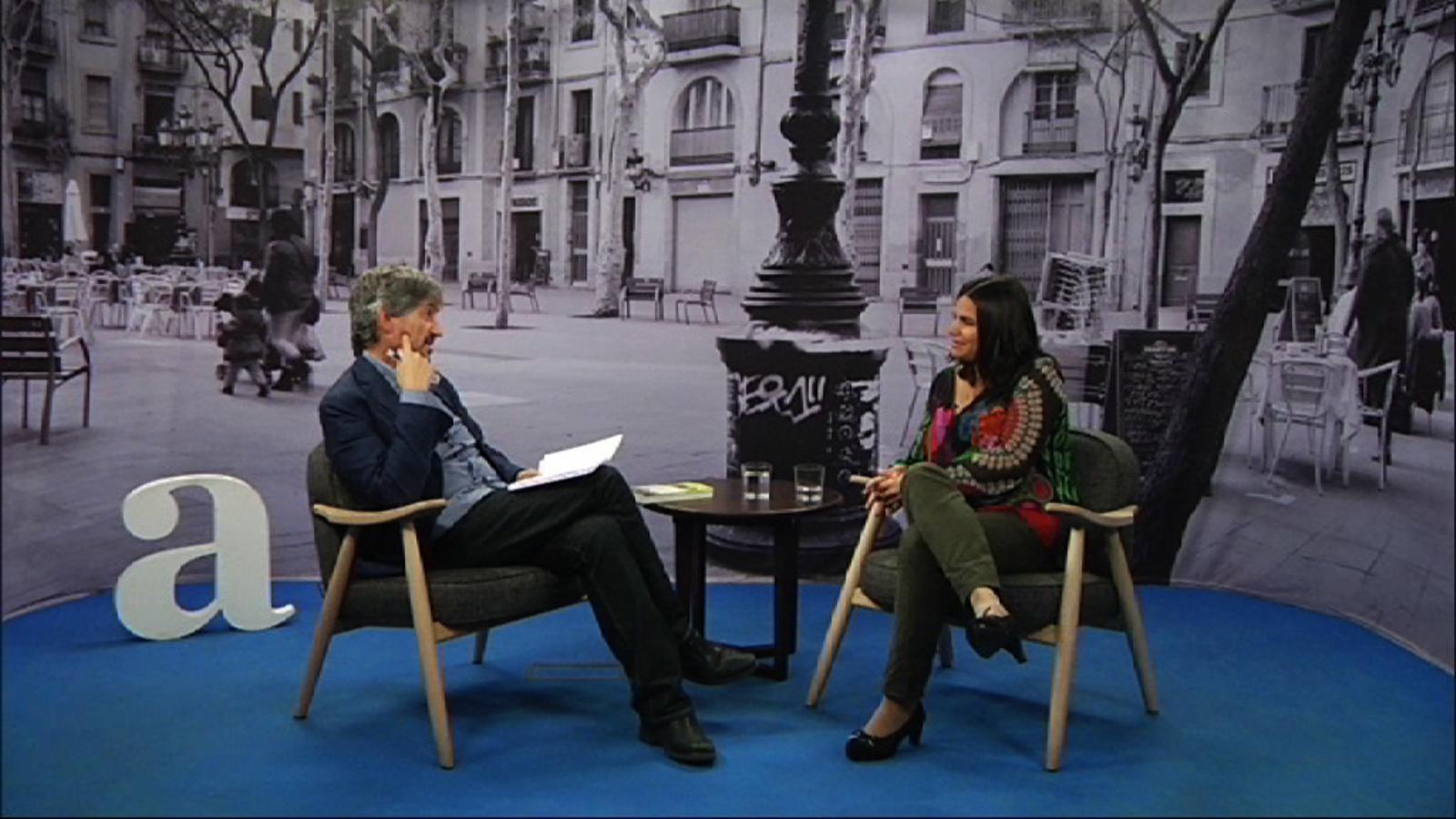 Entrevista de Carles Capdevila a Odile Fernández