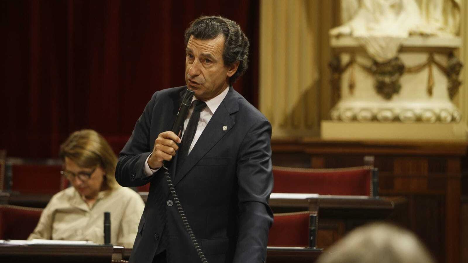 El portaveu del PP en el Parlament, Biel Company