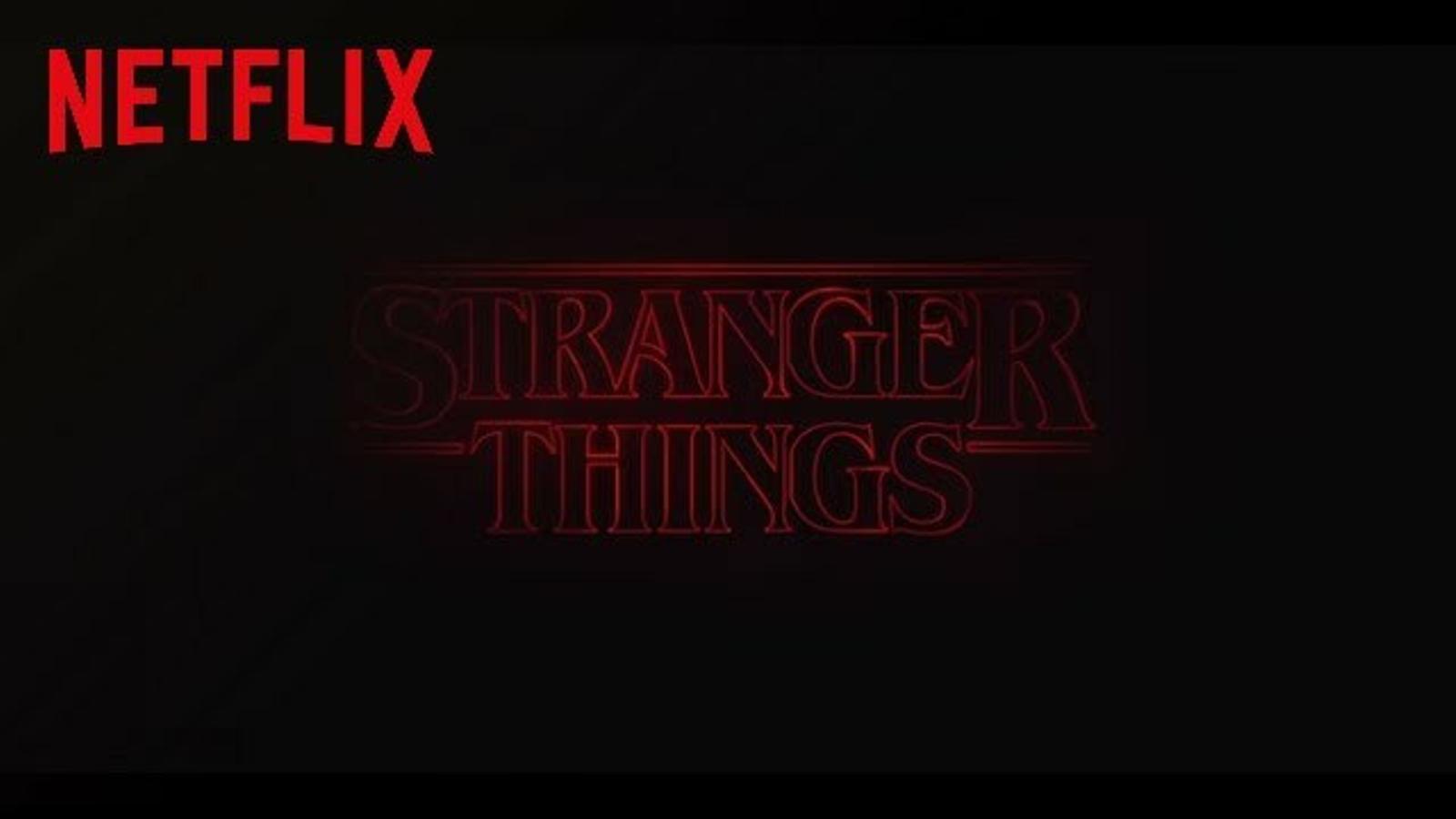 Crèdits inicials d''Stranger things'