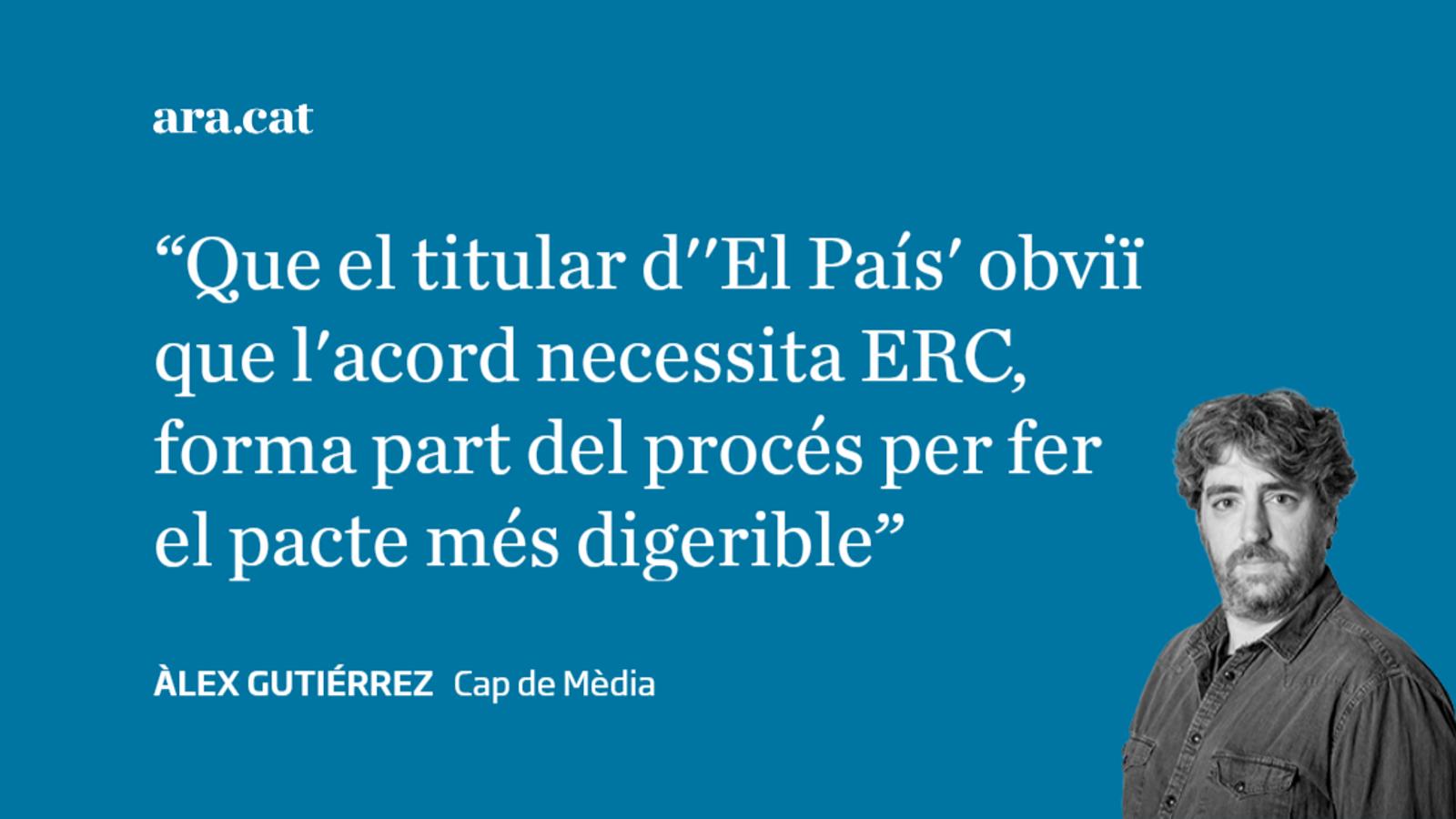 'El País' empeny el pacte PSOE-UP gola avall dels empresaris