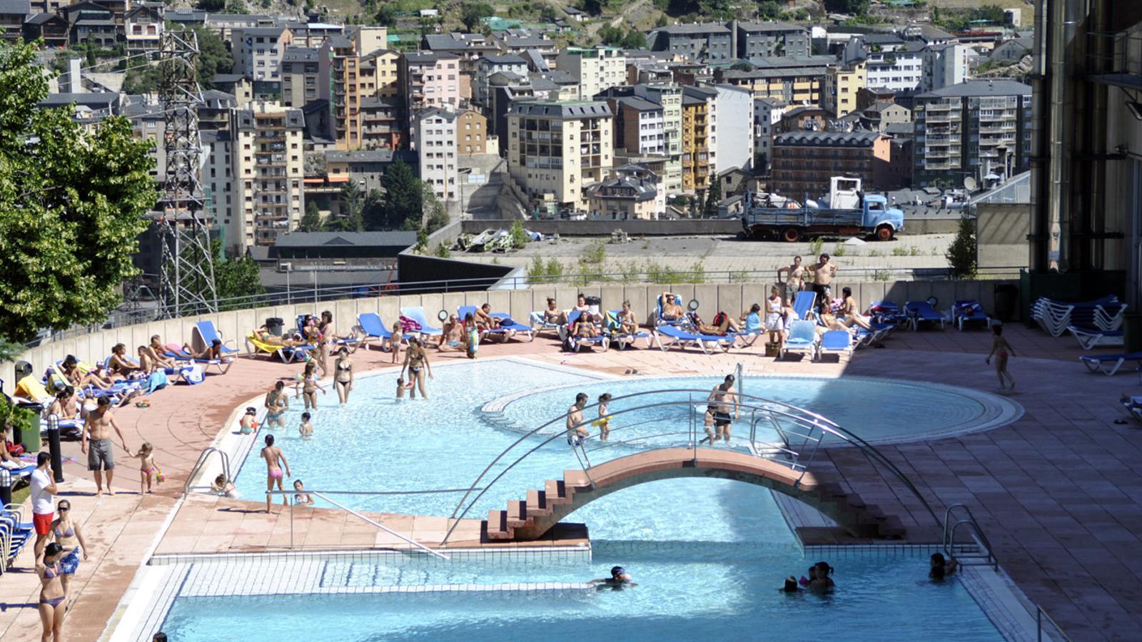La piscina dels Serradells / ANA
