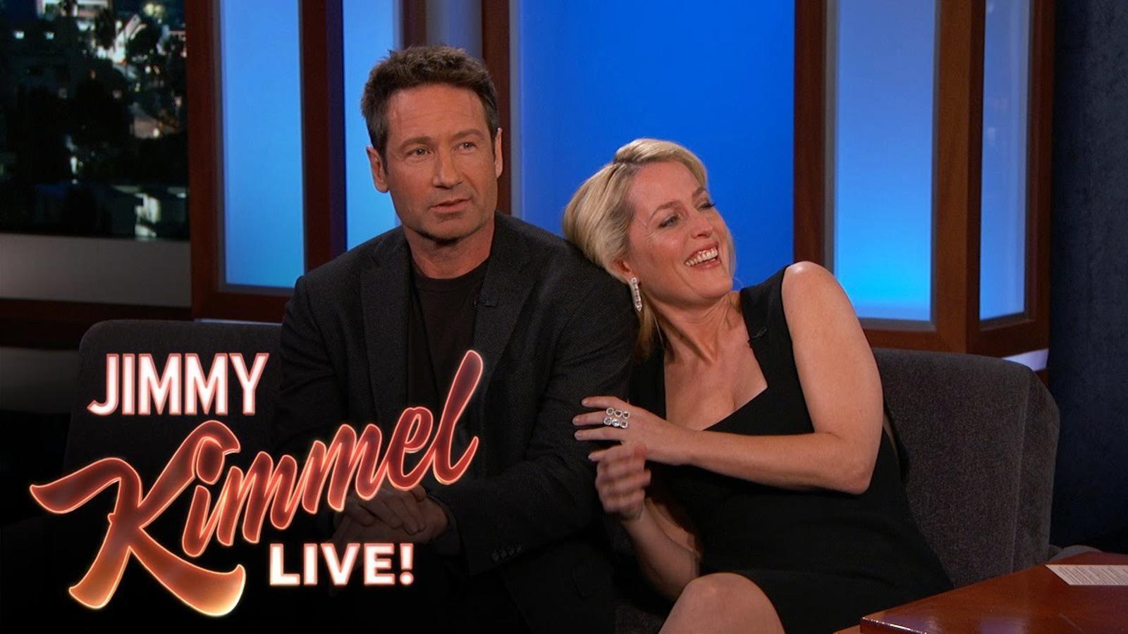David Duchovny i Gillian Anderson parlen de la seva mala relació als anys 90