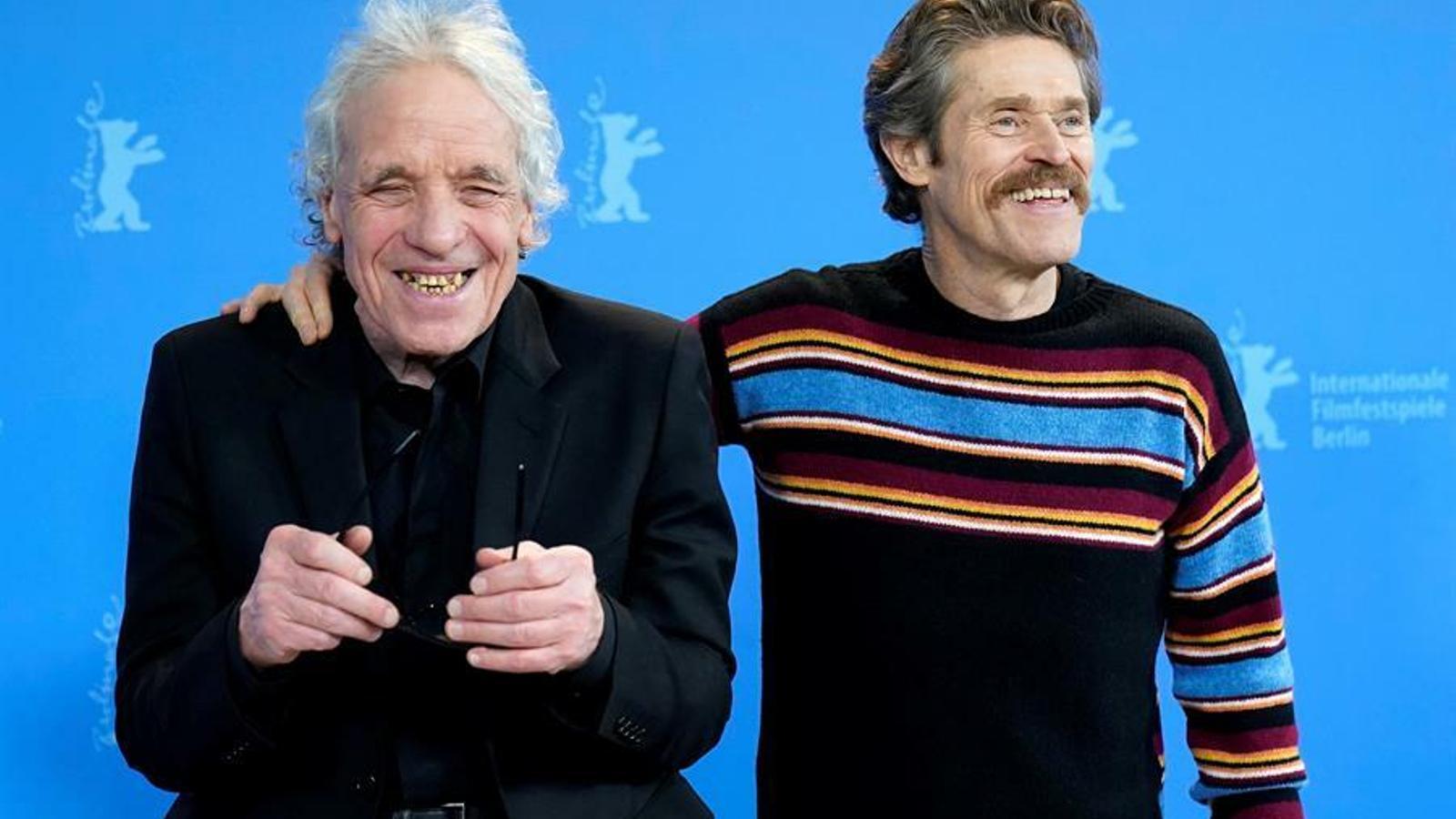 Abel Ferrara i Willem Dafoe a la Berlinale presentant 'Siberia'