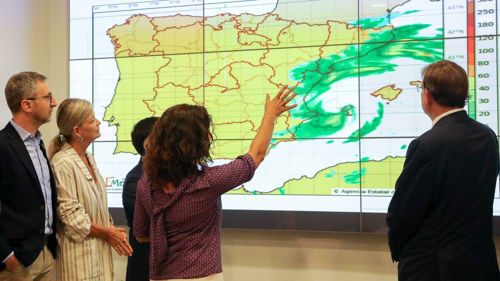 255.400 alumnes es queden sense classe al País Valencià pel temporal de pluja i vent