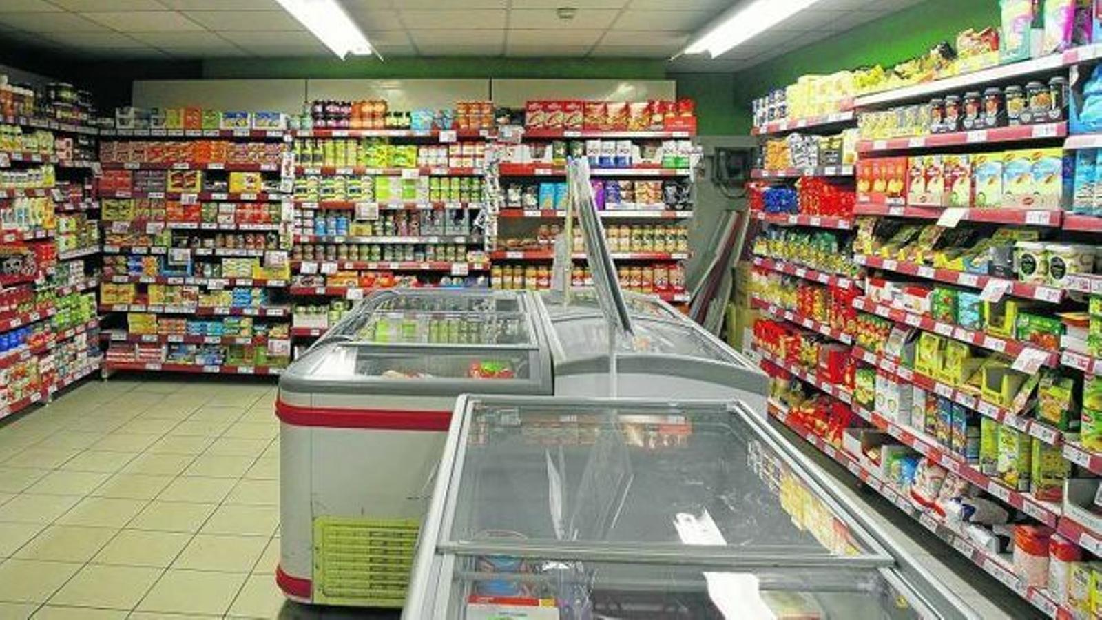 A Espanya, les vendes del comerç minorista varen créixer el 5,5%.