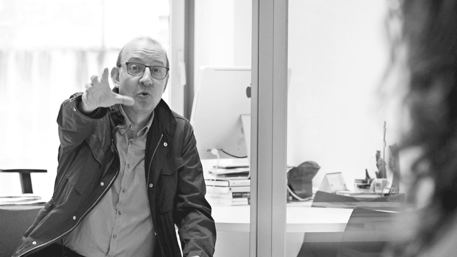 L'editorial d'Antoni Bassas: Per què els jutges no es queixen davant d'altres manifestacions? (14/10/2015)