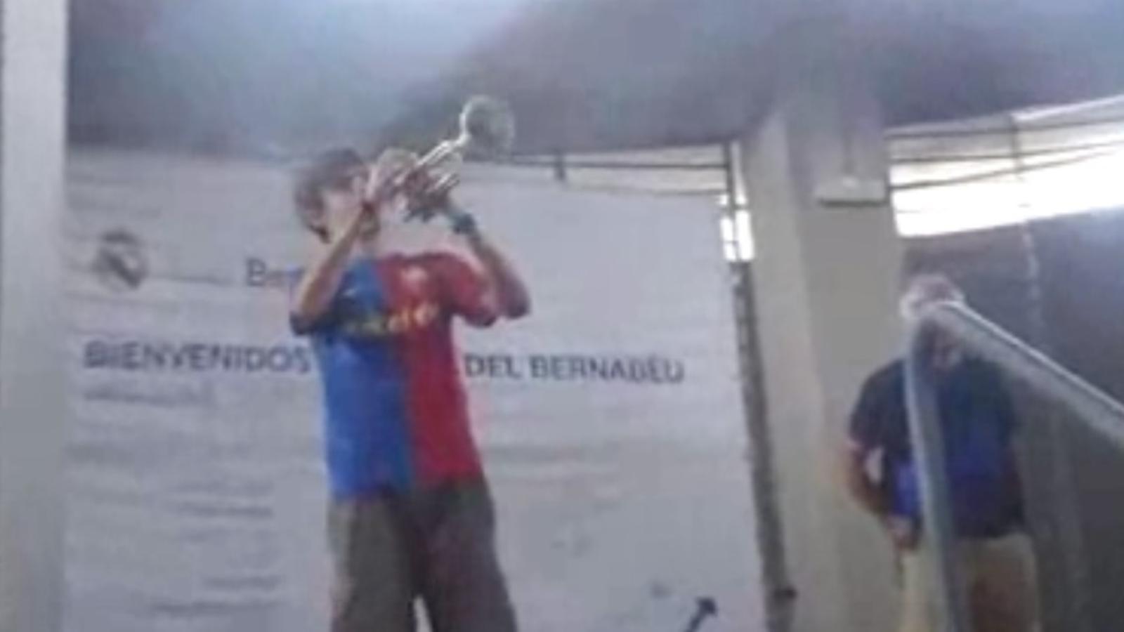 Torna-la a tocar, culer (al Bernabéu)