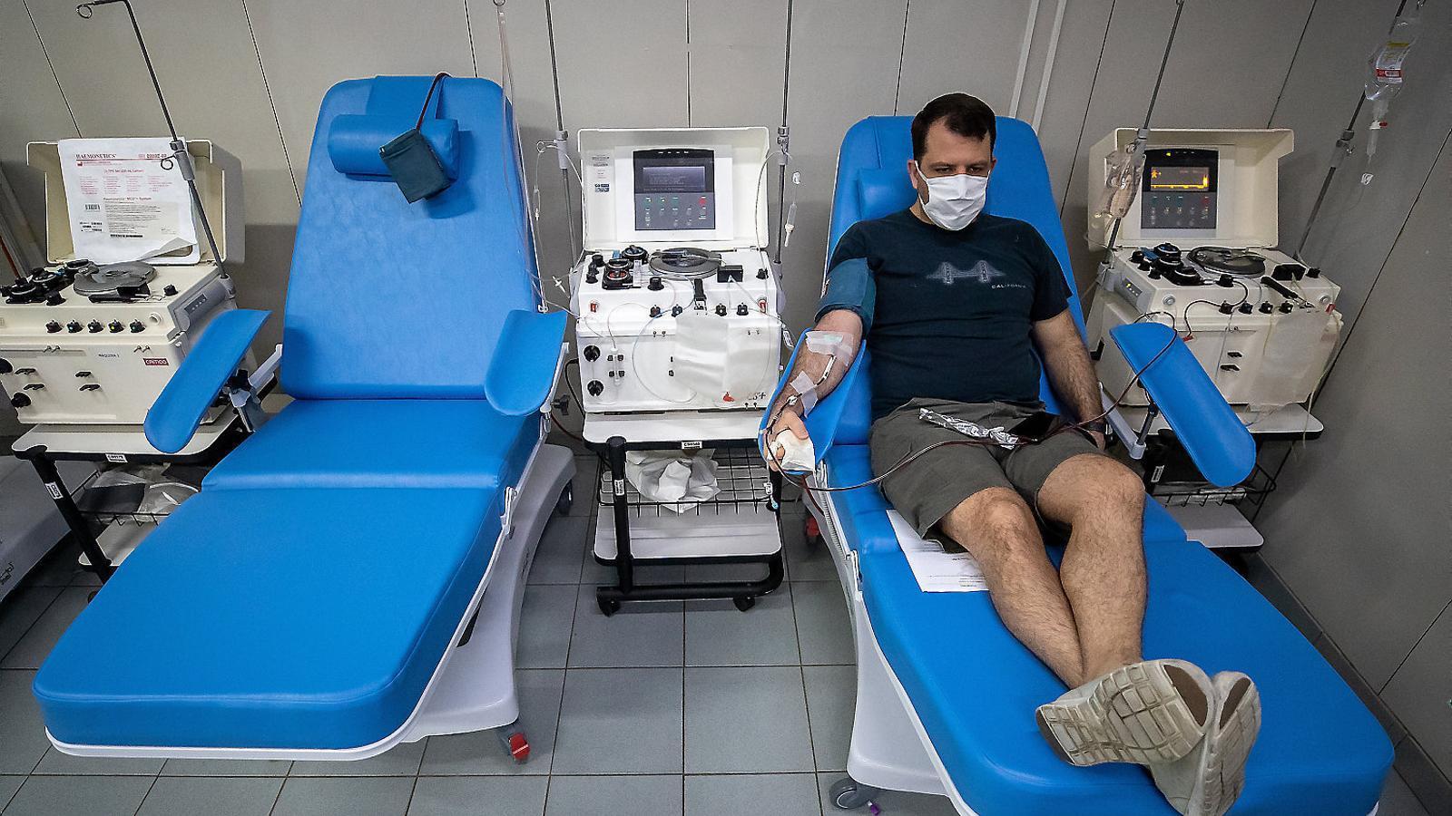Plasma de supervivents com a tractament per al covid-19