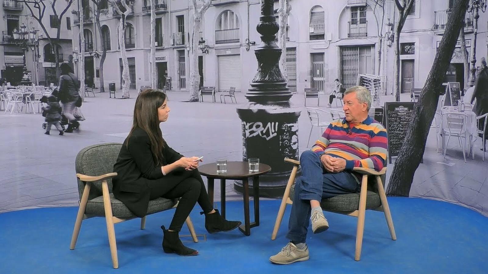 Entrevista de Laura Rosel a Domiciano Sandoval