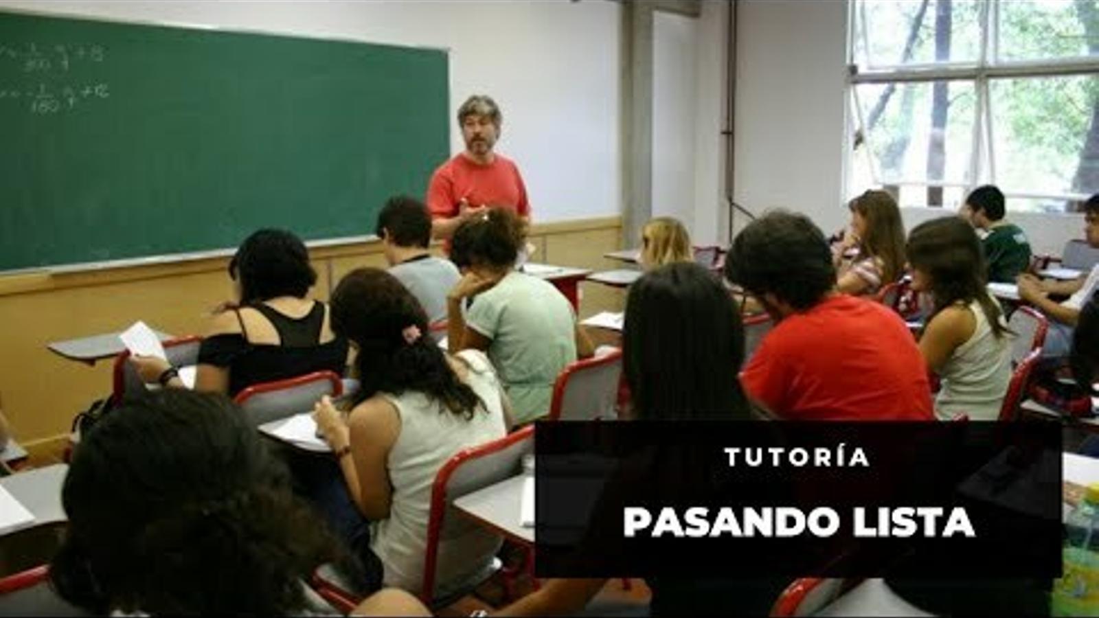 Primer contacte d'Alvaro Granell amb els seus alumnes des del confinament