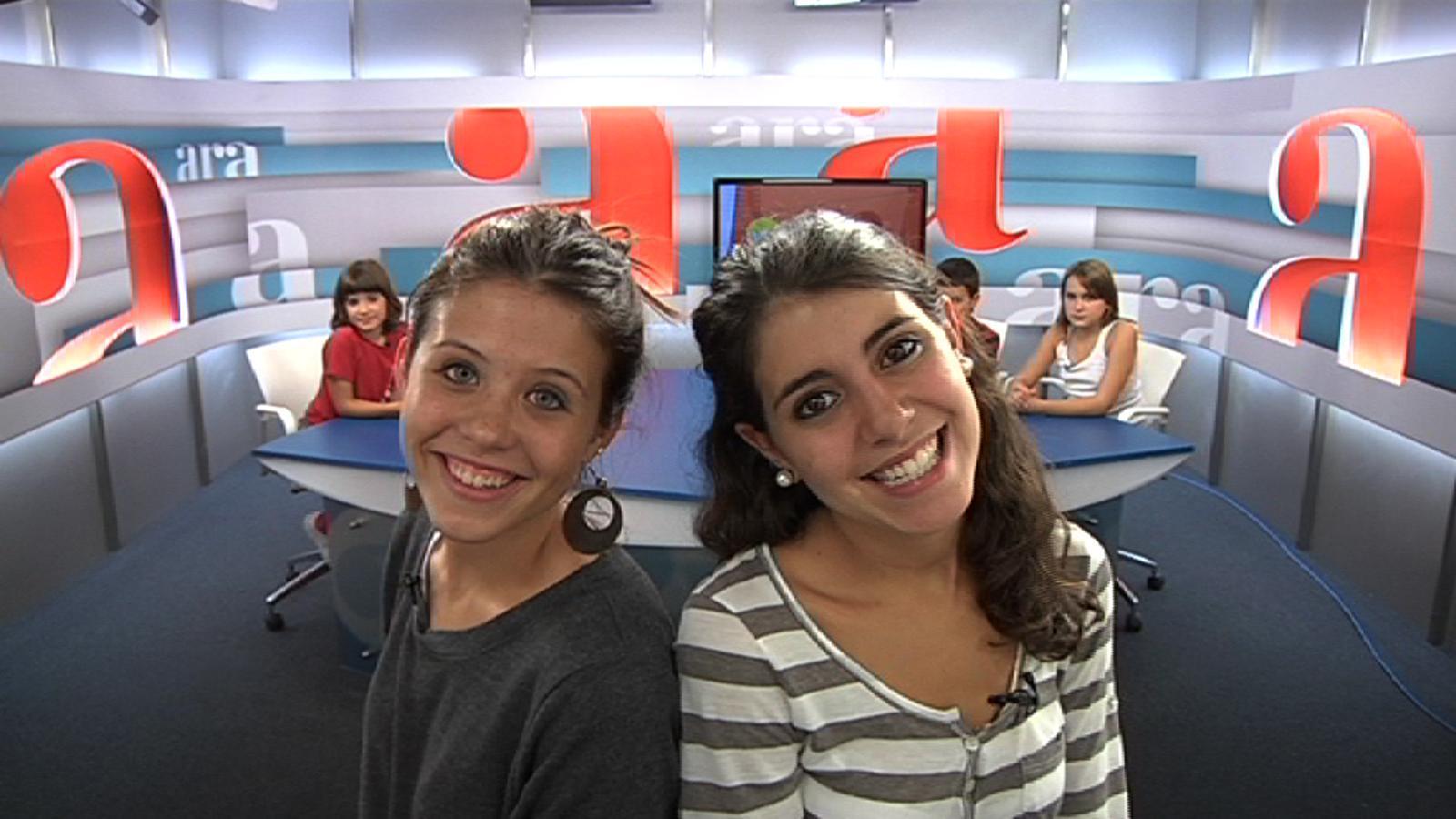 Ara kids: La Pinya i la Llimona del grup Macedònia passen pel nostre plató