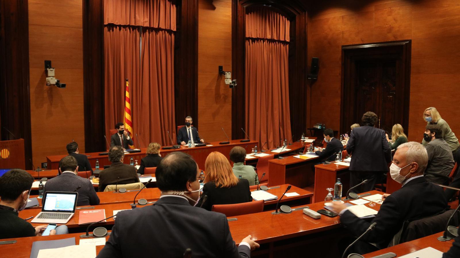 EN DIRECTE | Conferències de premsa posteriors a la reunió de la taula de partits per tractar de les eleccions del 14 de febrer