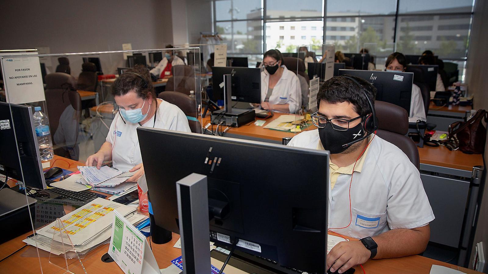 """El Banc d'Espanya recomana un augment """"dràstic"""" dels rastrejadors"""