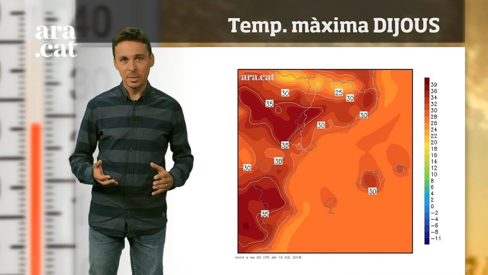 La méteo en 1 minut: dos dies de calor més intensa