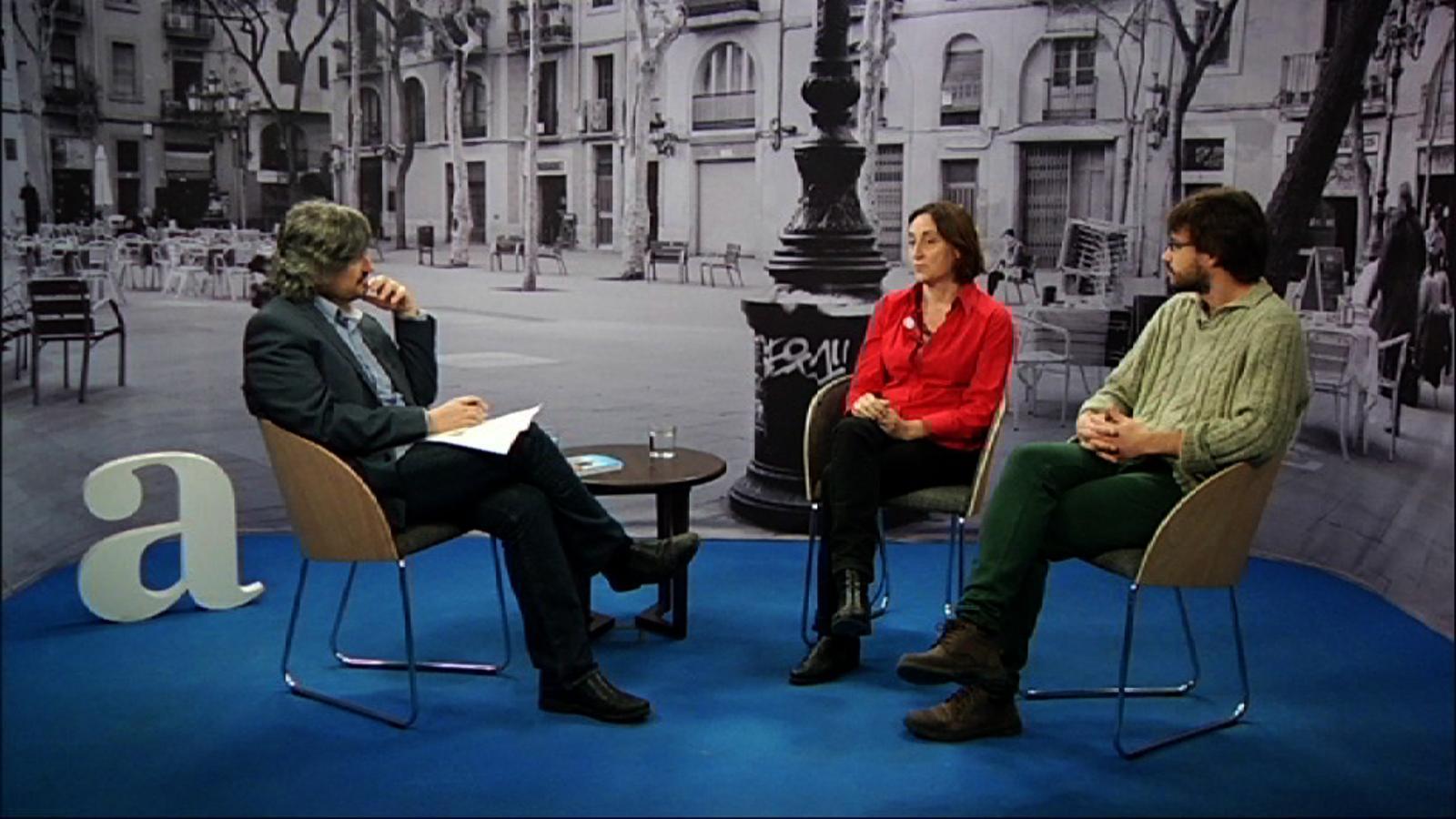 Entrevista de Carles Capdevila a Itziar González i Iago Otero