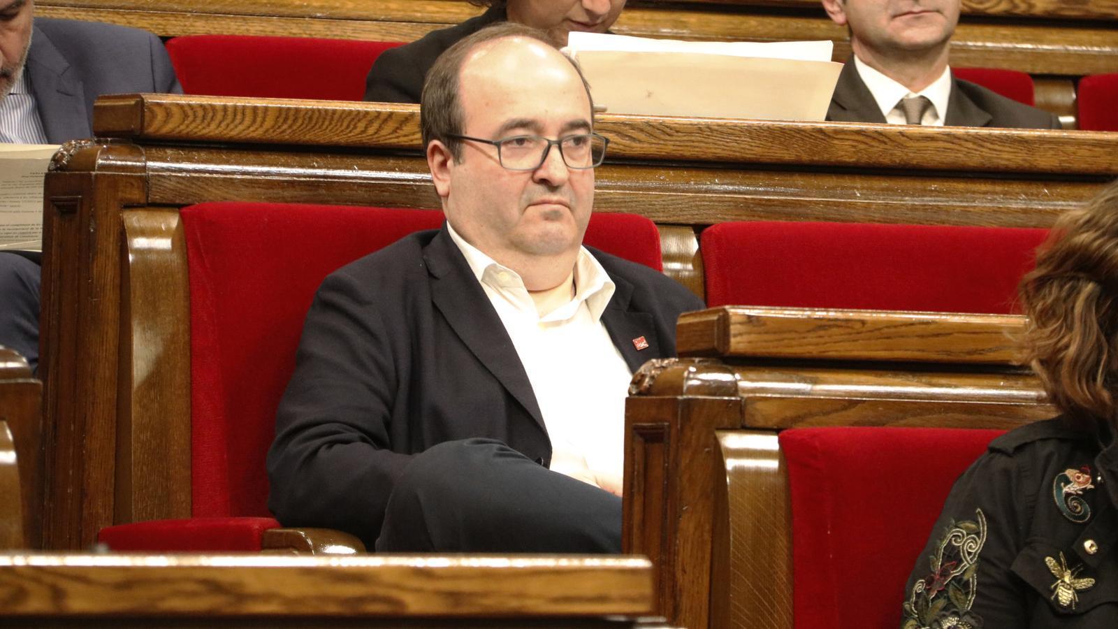 """Iceta: """"Si el 65% dels catalans volen la independència, la democràcia ha de trobar un mecanisme per habilitar-la"""""""