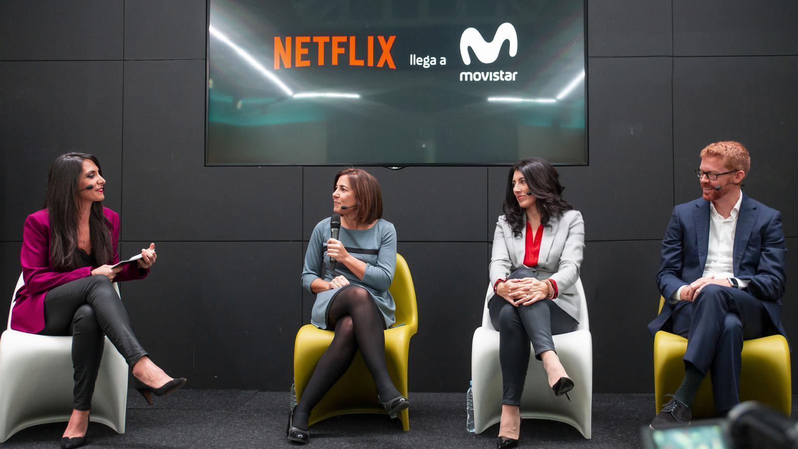 Movistar+ integra Netflix incrementant el preu de les seves ofertes