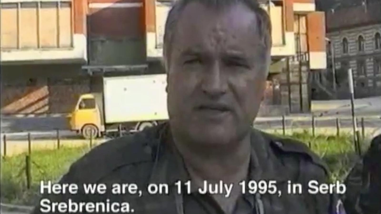 Ratko Mladic l'11 de juliol del 1995 a Srebrenica: Ha arribat el moment de venjar-nos dels turcs
