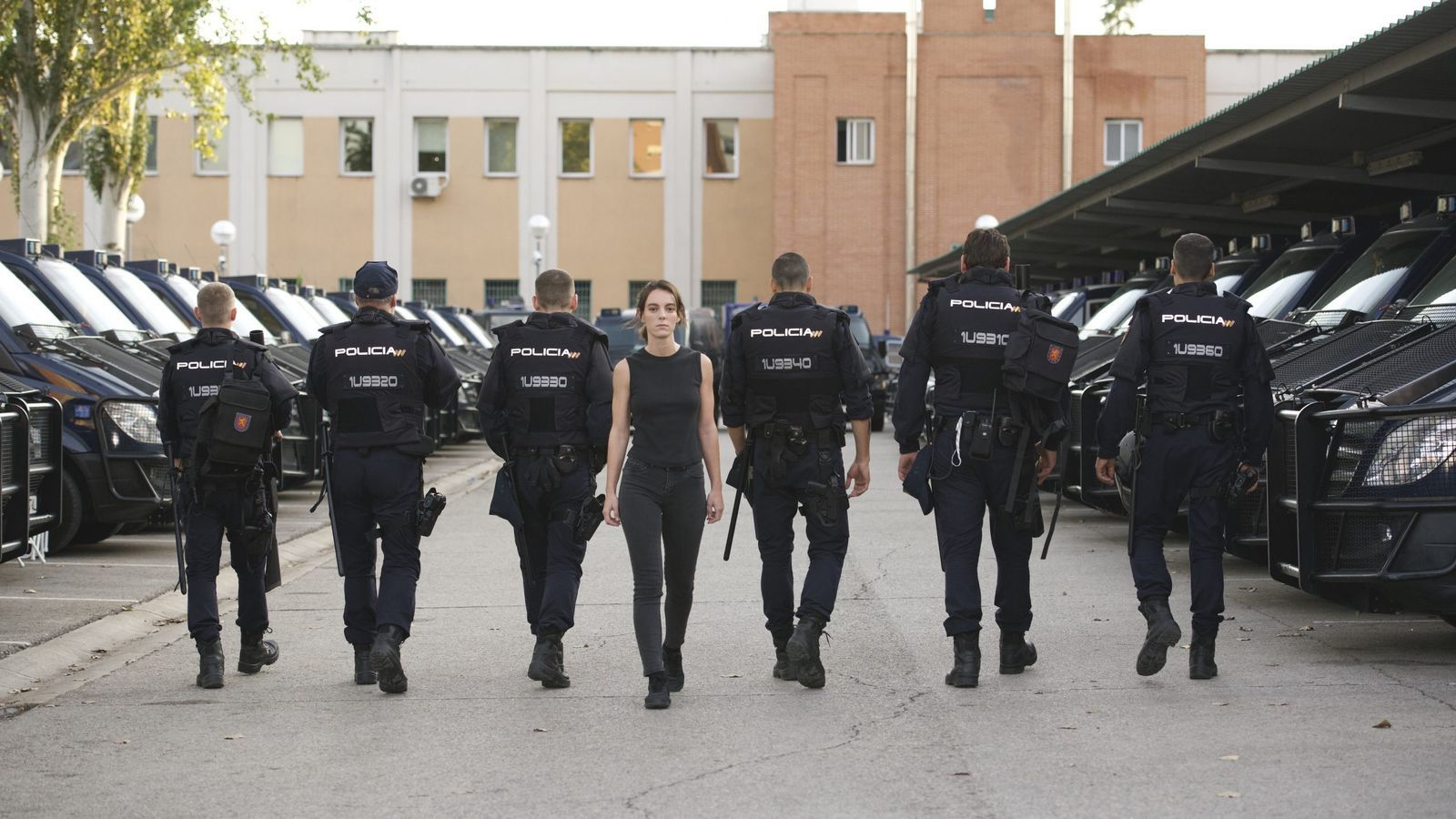 Vicky Luengo és la protagonista d'Antidisturbios, una de les sèries imprescindibles del mes