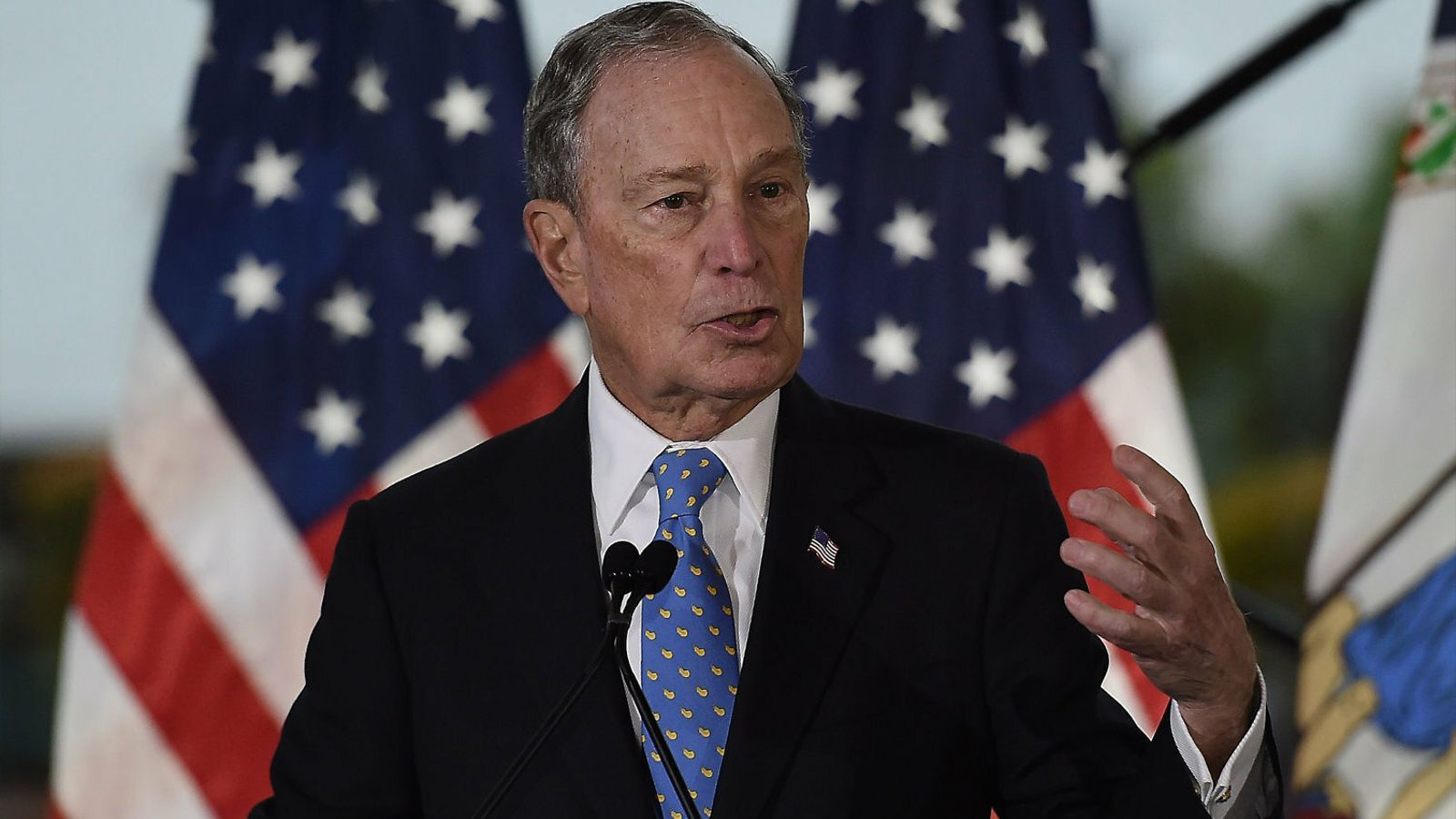 Mike Bloomberg en una imatge d'arxiu.