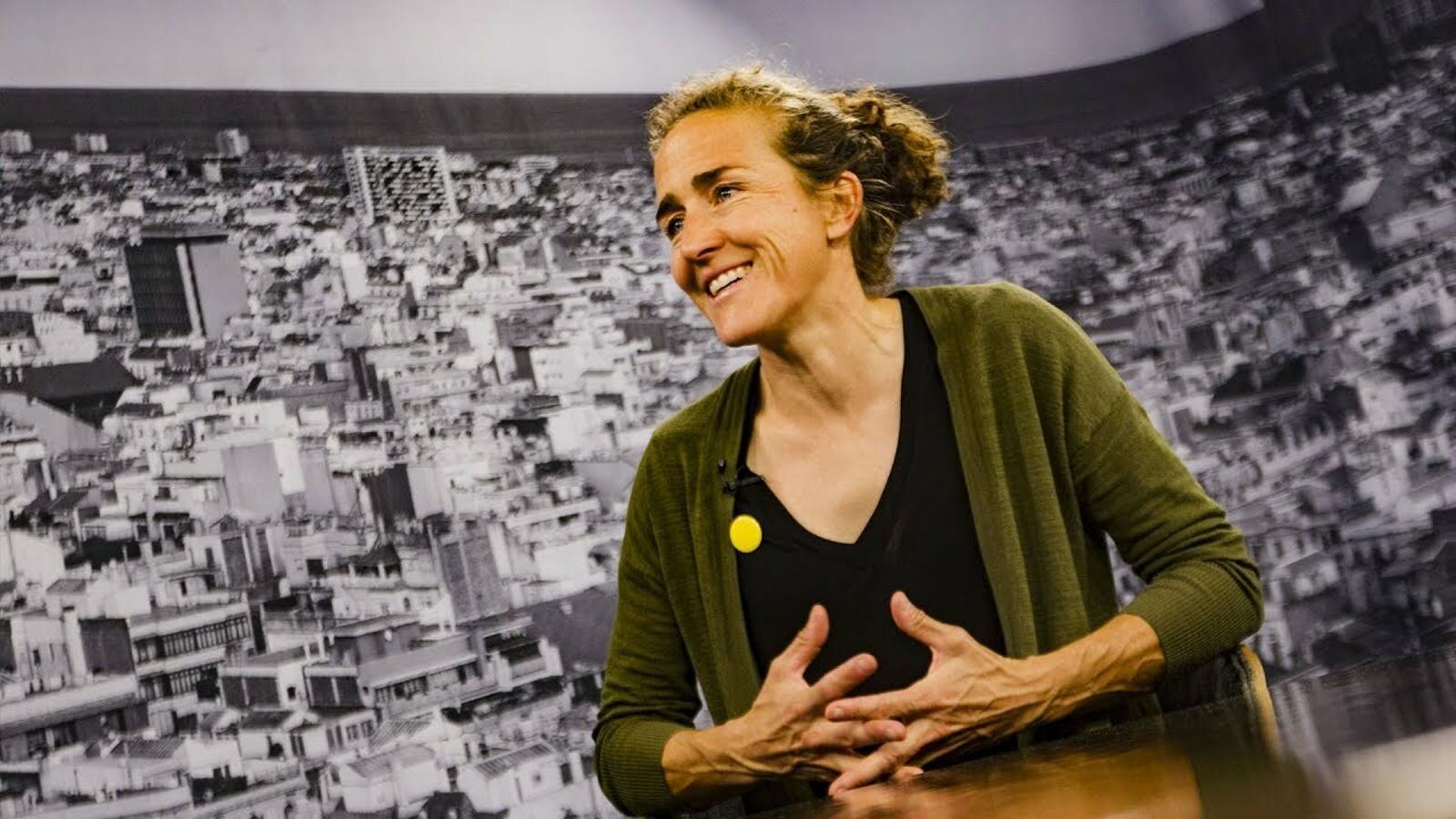 """Núria Picas: """"Estic fora de la meva zona de confort, però al final me n'acabo sortint"""""""