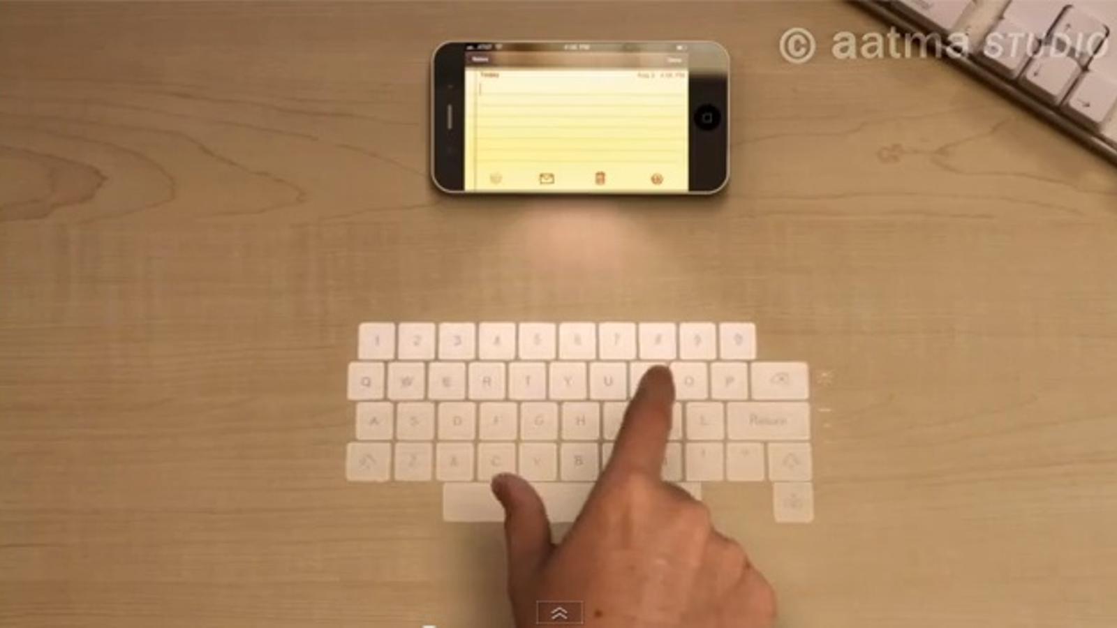 L'iPhone 5 podria ser així...