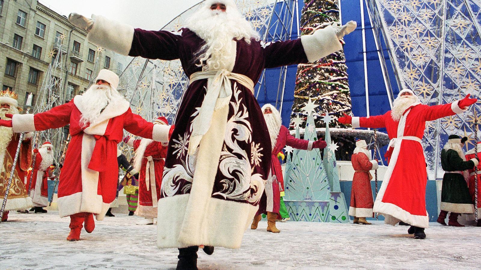 Ded Moroz és un personatge de la tradició russa