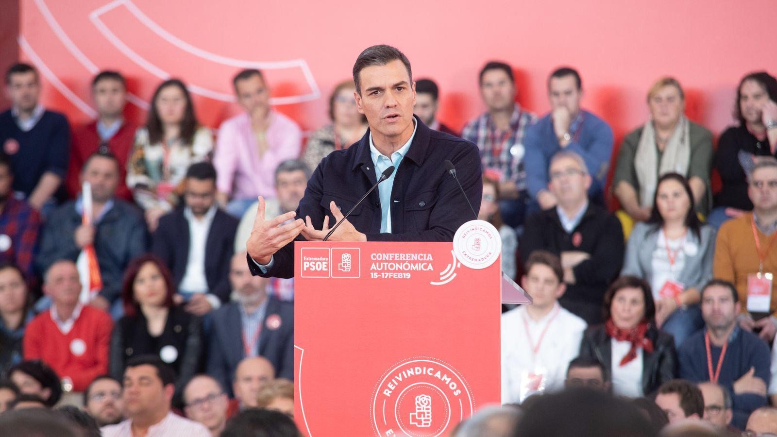 """Sánchez apel·la a l'Espanya """"moderada i sensata"""" per evitar el triomf de """"l'extremisme i dels més ultres"""""""