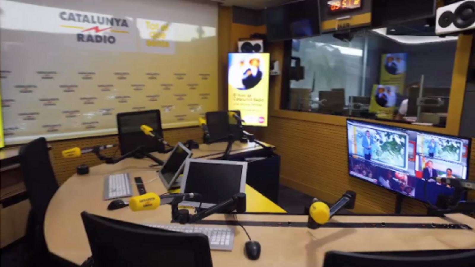 El nou estudi 1 de Catalunya Ràdio