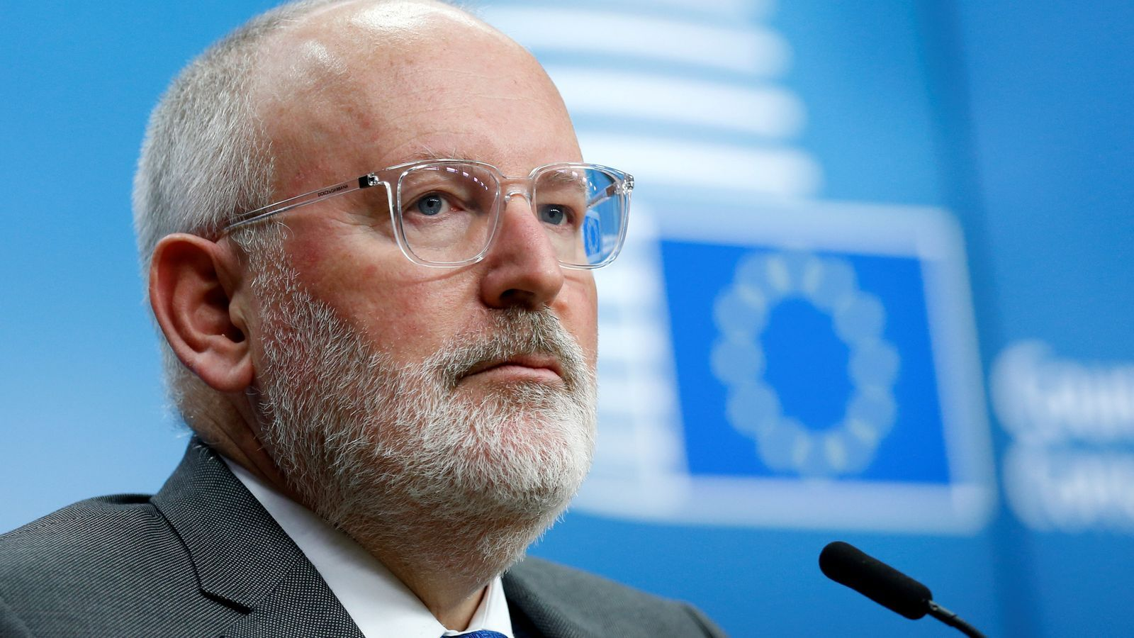 El vicepresident de la Comissió Europea, Frans Timmermans.