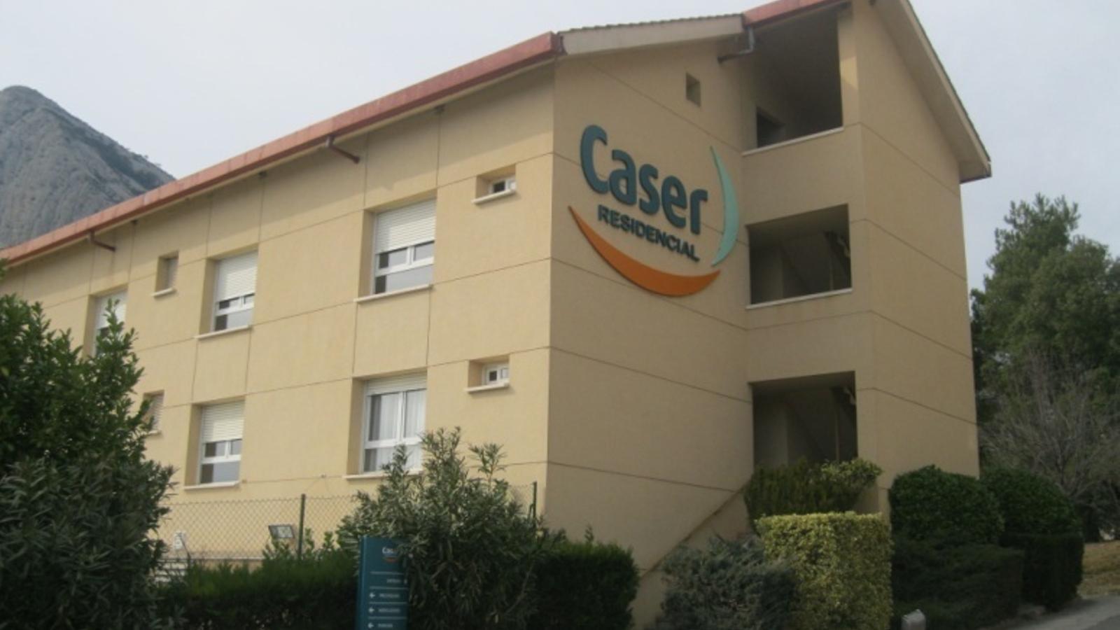 La residència d'Oliana. / CASER