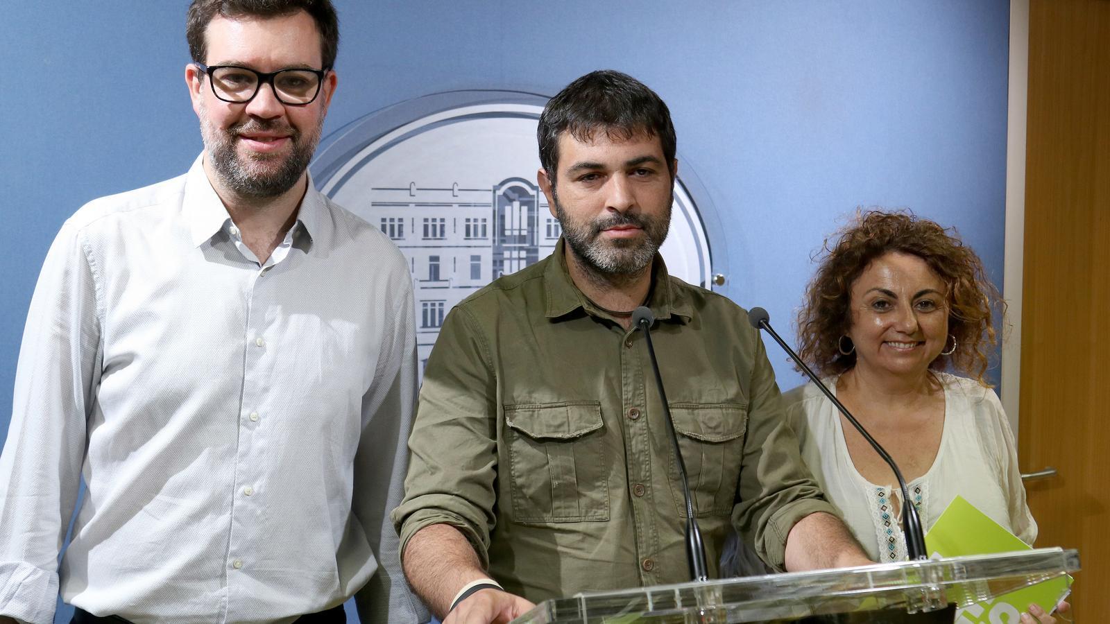 Noguera, Ferrà i Campomar, en el Parlament aquest divendres
