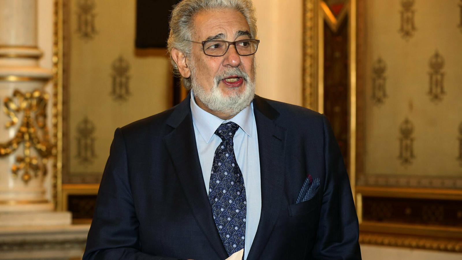 El Teatro de la Zarzuela suspèn les actuacions de Plácido Domingo