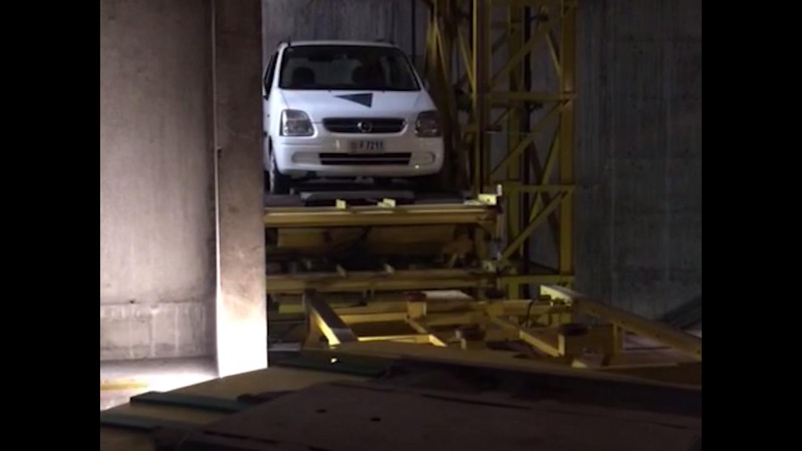 Obertura de l'aparcament de Els Pouets