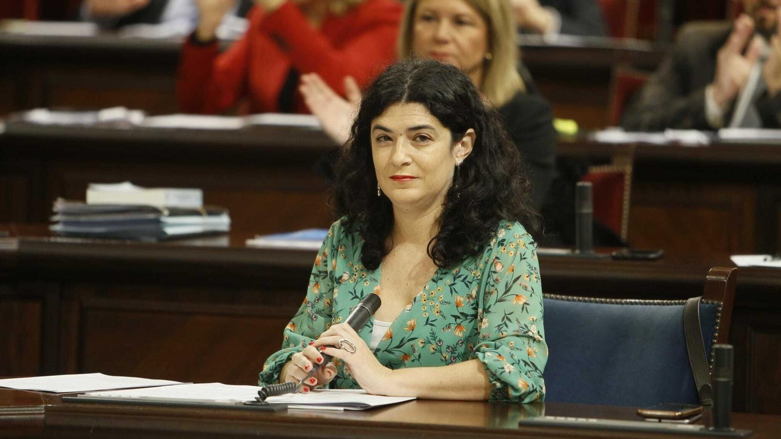 La consellera d'Administracions Públiques, Isabel Castro