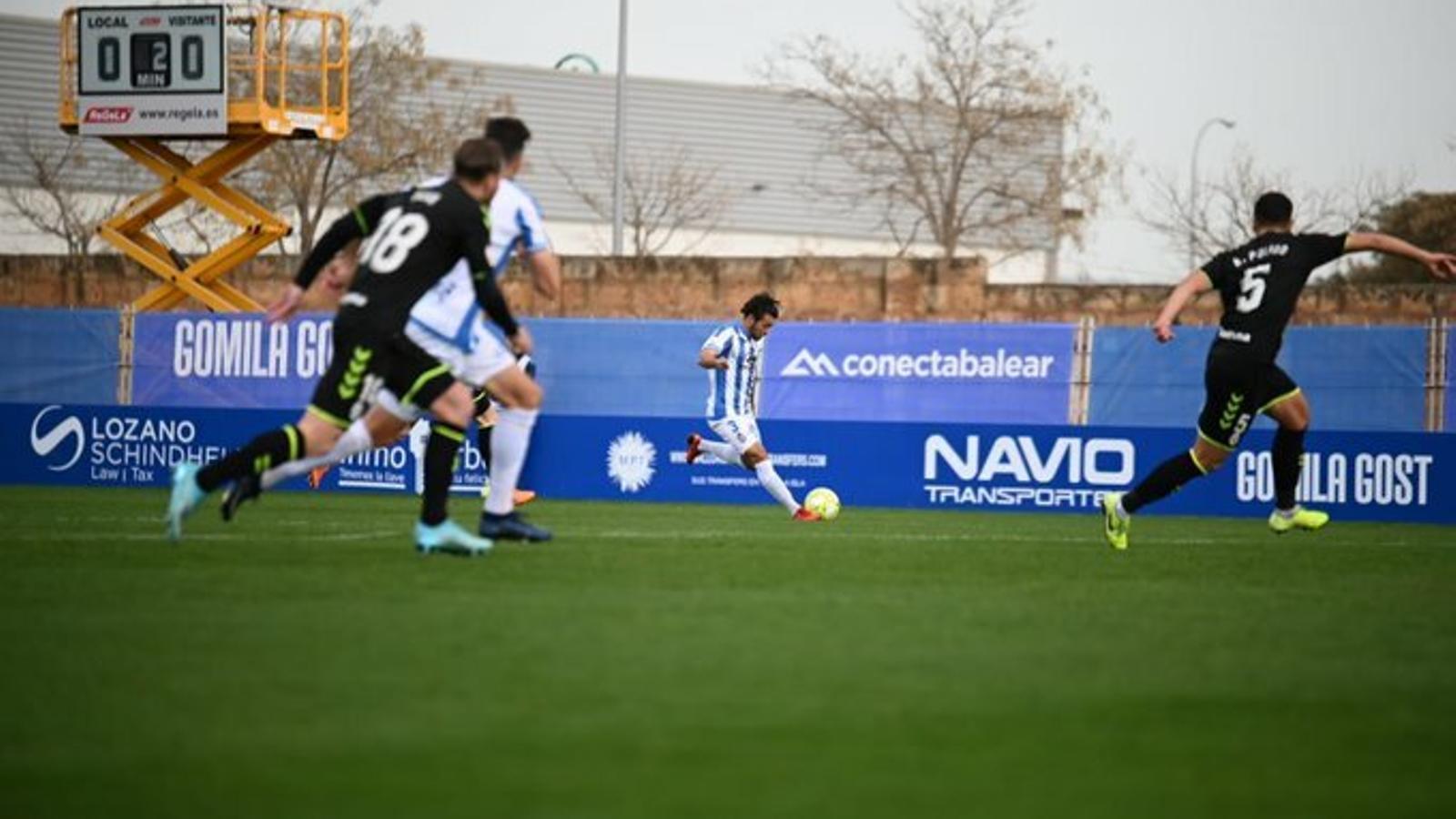 L'Atlètic Balears recupera el somnriure amb una gran victòria contra el Rayo Majadahonda