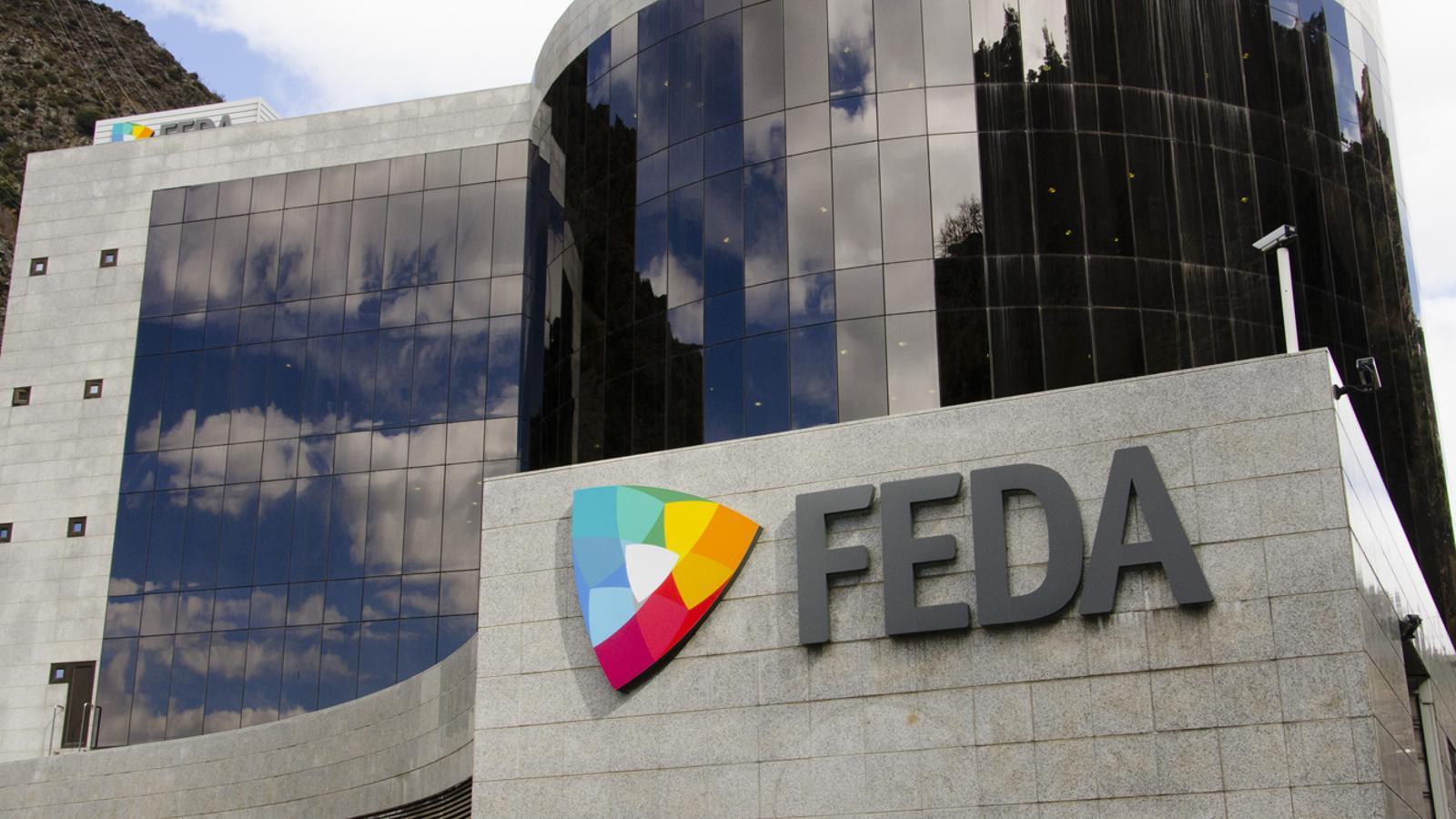L'edifici central de FEDA. / ANA