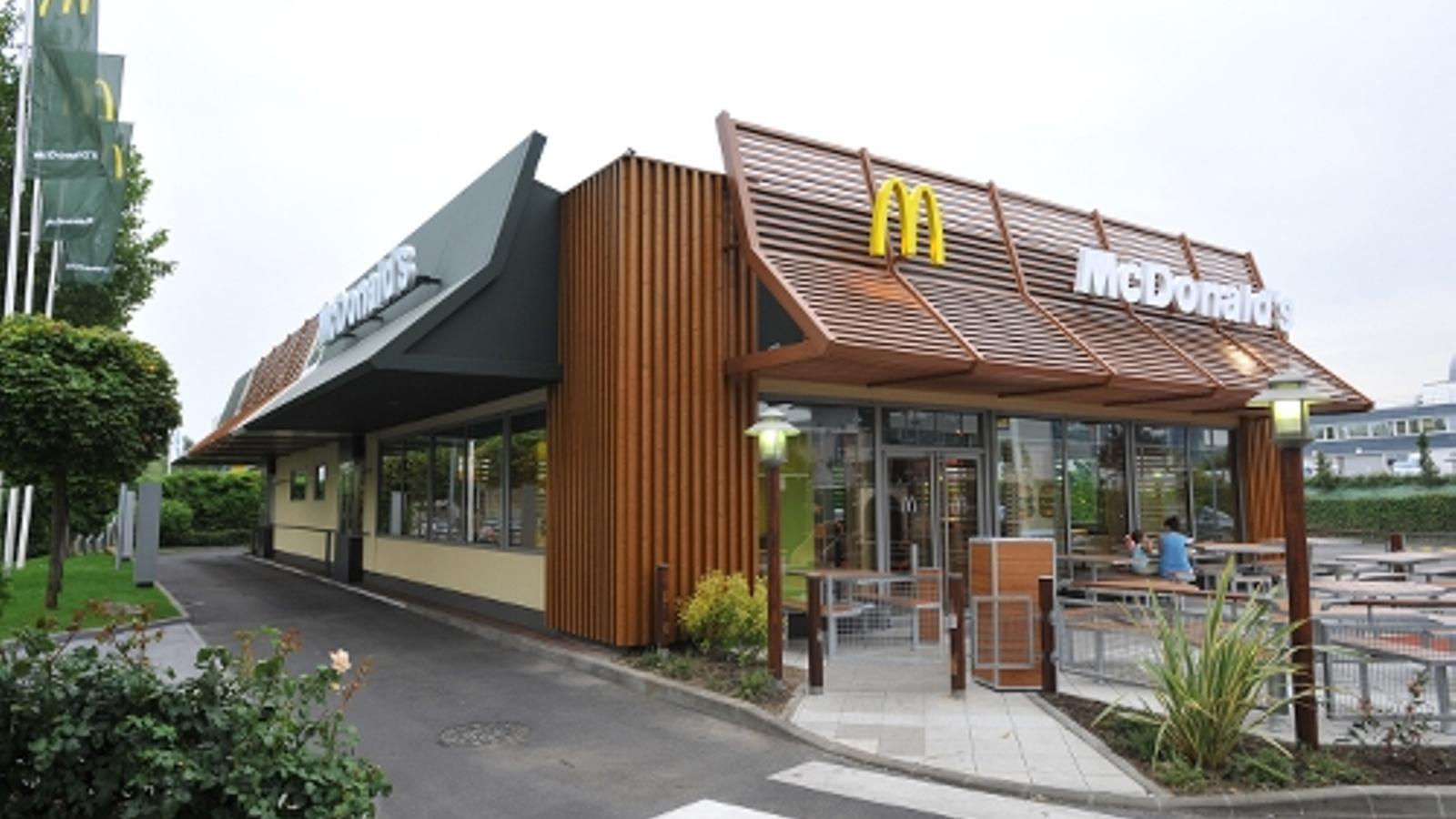 Un restaurant de McDonald's / MCDONALD'S