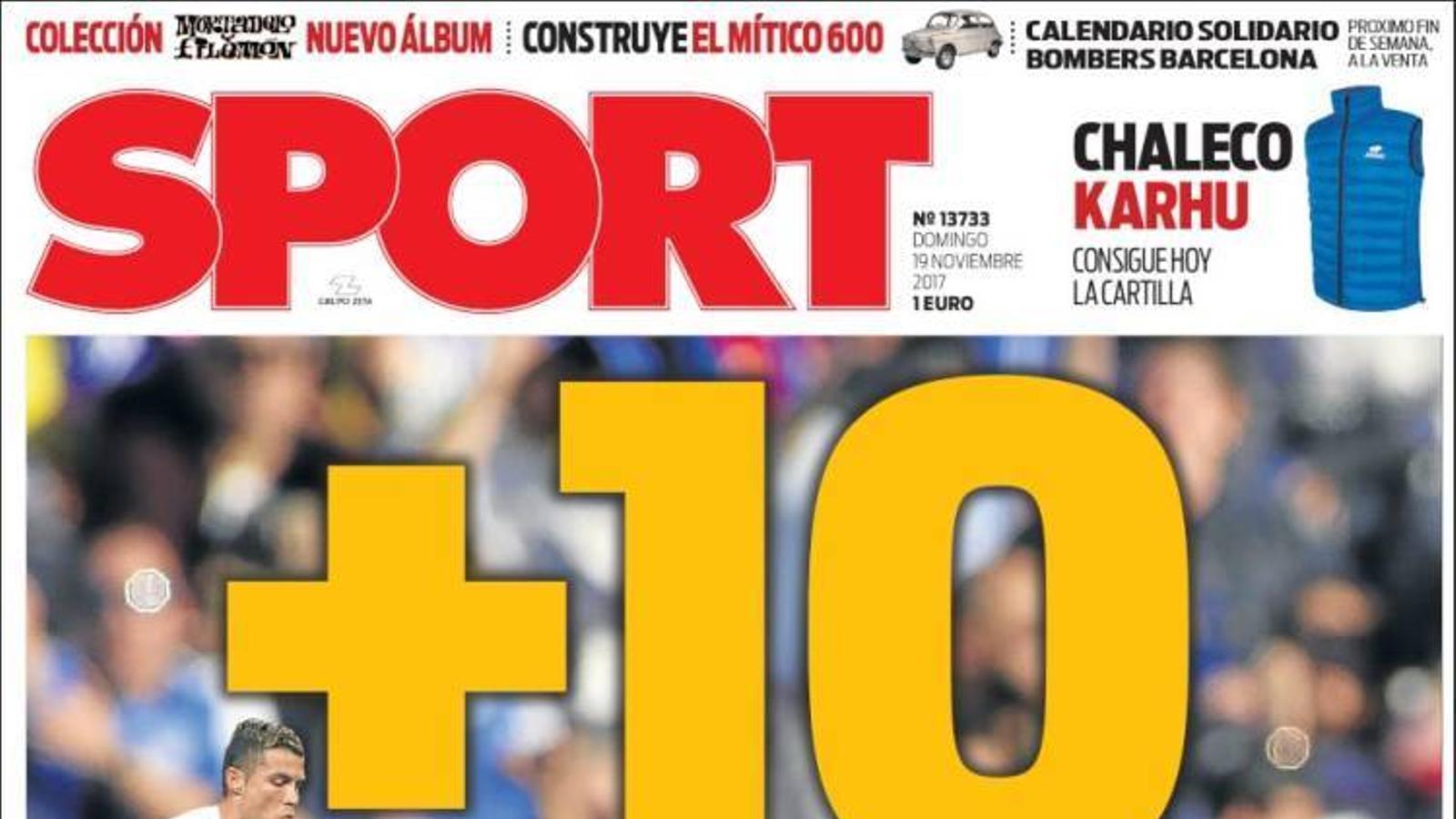 Portada 19 novembre Sport