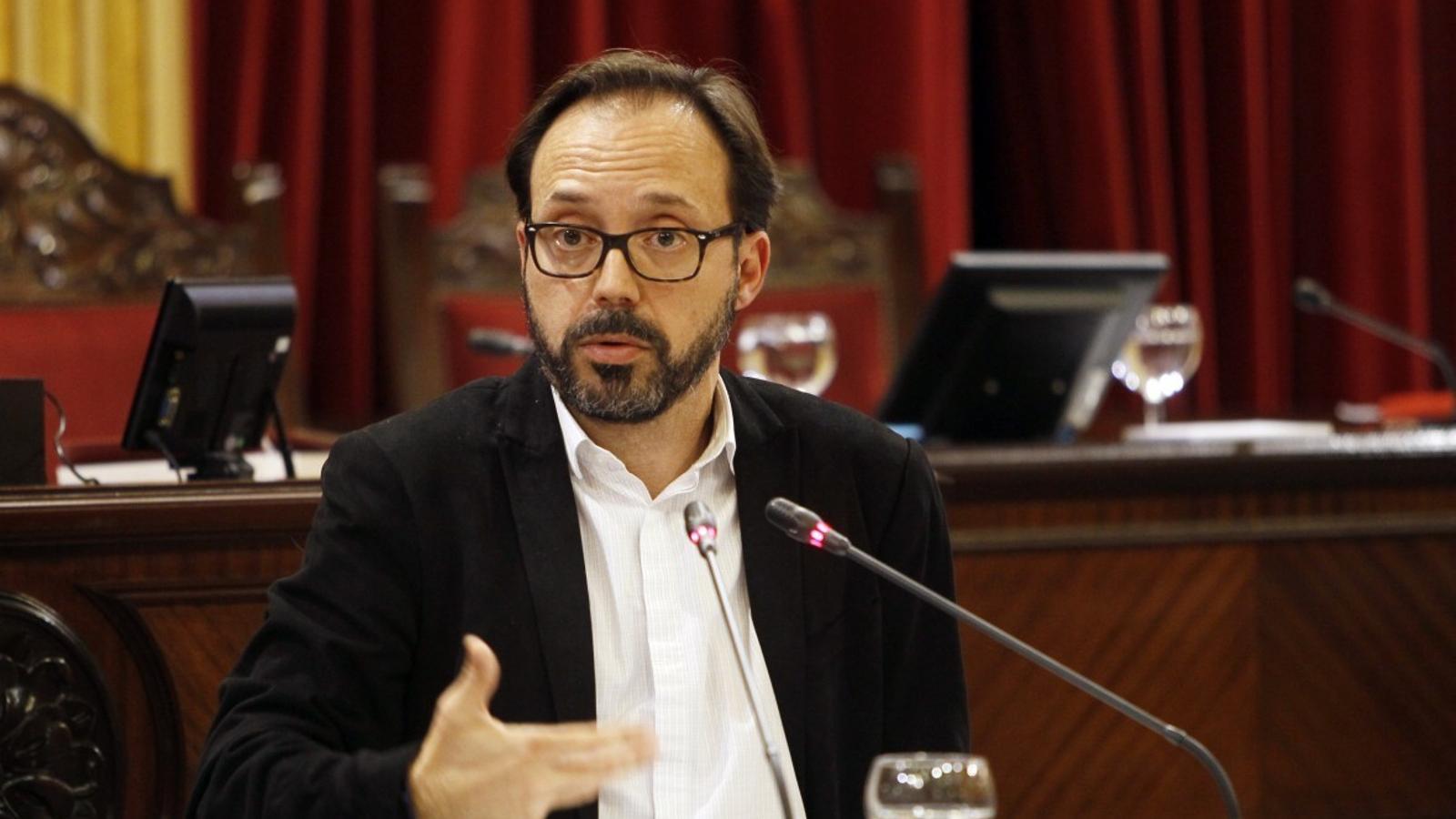 Josep Castells detallarà al Parlament el posicionament de Més per Menorca en referència a la Llei Agrària.